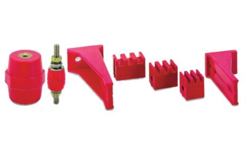Stromschienen-Isolatoren und -Halter